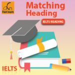 Heading matching reading questions