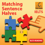 Matching sentence halves in IELTS reading