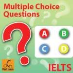 Multiple choice question in IELTS reading