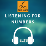 nghe số trong IELTS listening