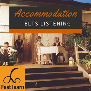 Chủ đề nhà ở trong IELTS listening