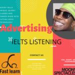 Chủ đề quảng cáo trong IELTS listening