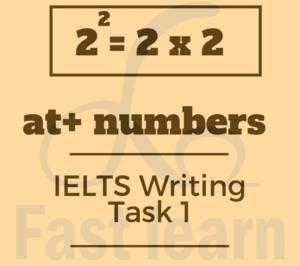 đưa số liệu vào câu trong ielts writing task 1