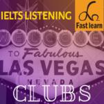 Chủ đề về câu lạc bộ trong IELTS listening