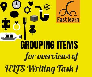 Nhóm thông tin để viết overviews cho ielts writing task 1