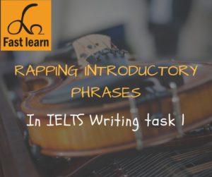 cụm từ băt đầu thân bài IELTS writing task 1