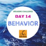 Speaking about behavior