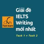 giải đề ielts writing task1 và task 2